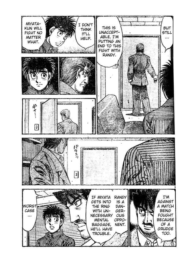 Hajime no Ippo 753 Page 3