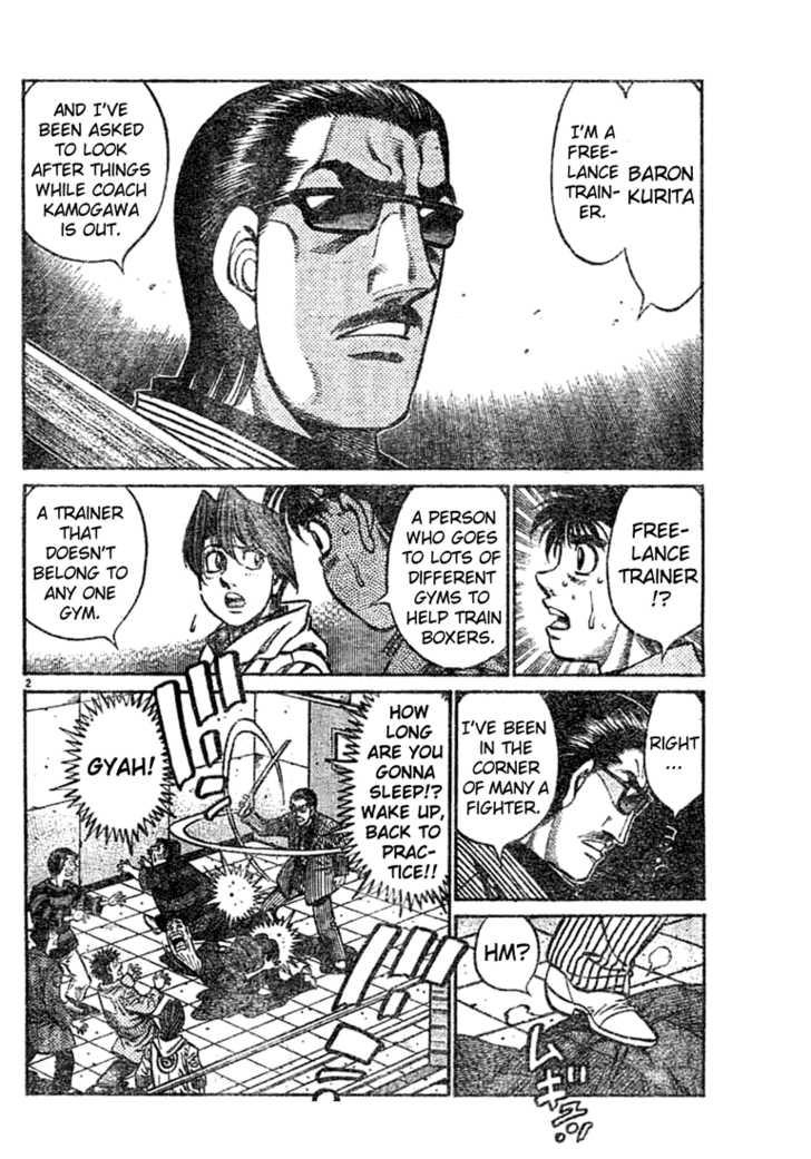 Hajime no Ippo 756 Page 2