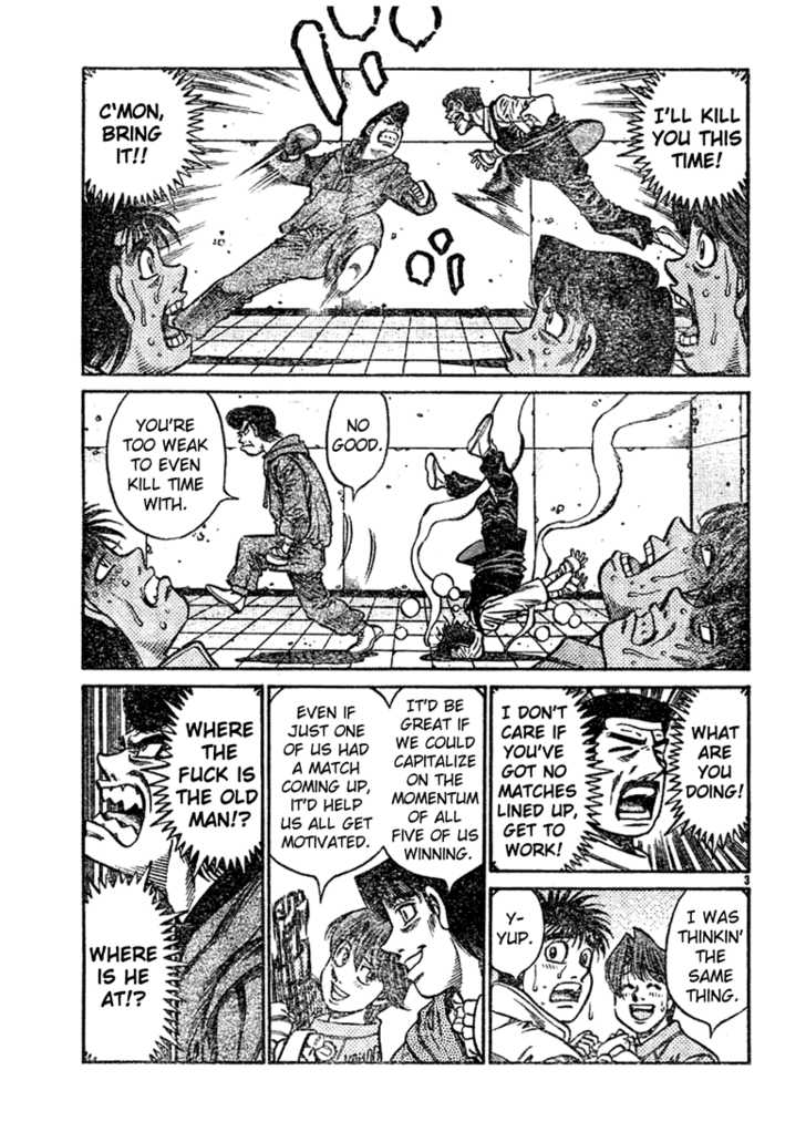 Hajime no Ippo 758 Page 3