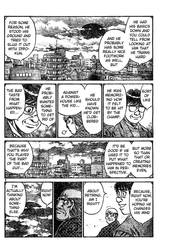 Hajime no Ippo 760 Page 2