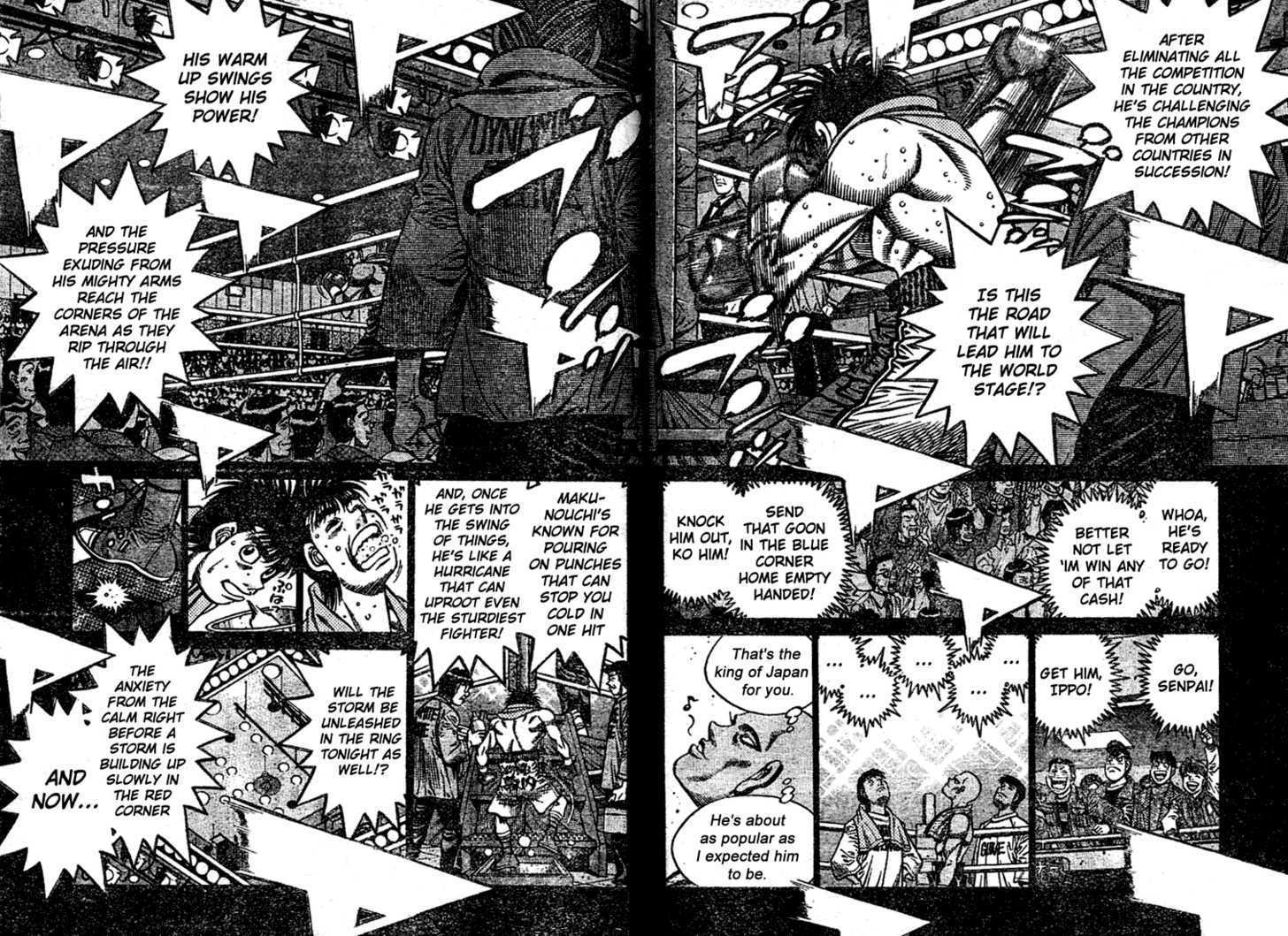 Hajime no Ippo 770 Page 2