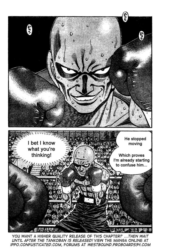 Hajime no Ippo 772 Page 2