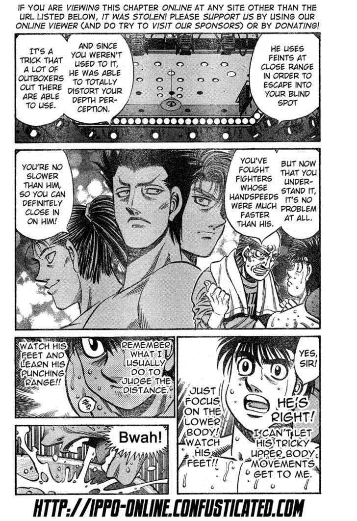 Hajime no Ippo 774 Page 3