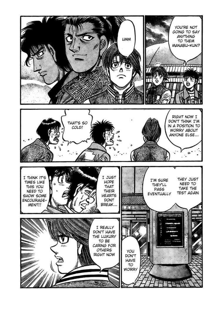 Hajime no Ippo 795 Page 3