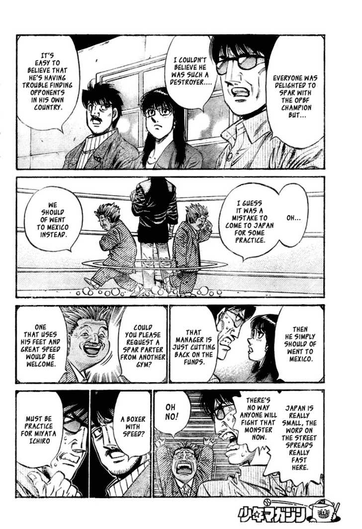 Hajime no Ippo 796 Page 4