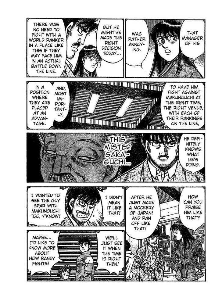 Hajime no Ippo 801 Page 3