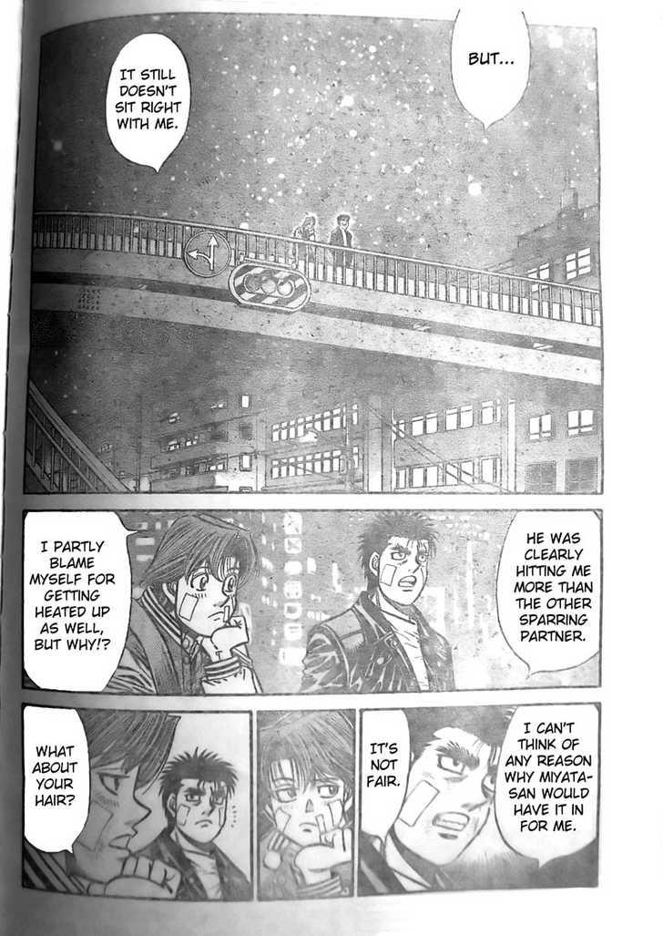 Hajime no Ippo 802 Page 2
