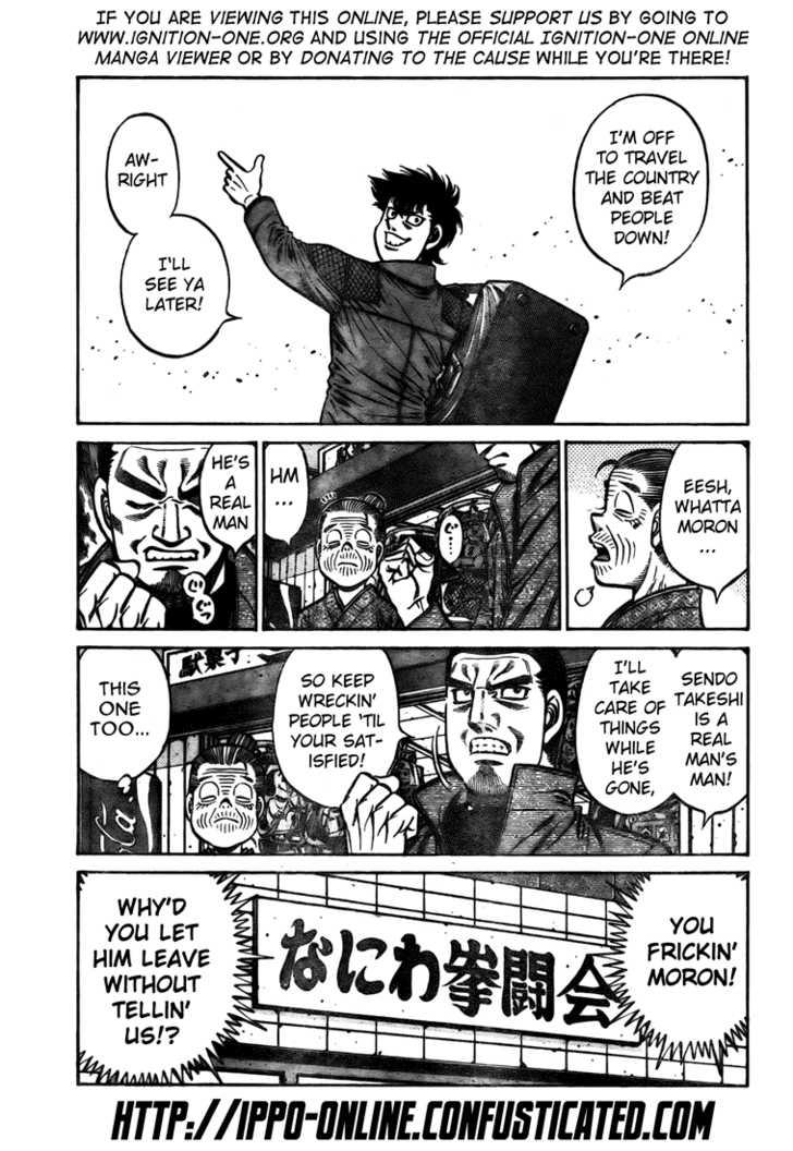 Hajime no Ippo 807 Page 3