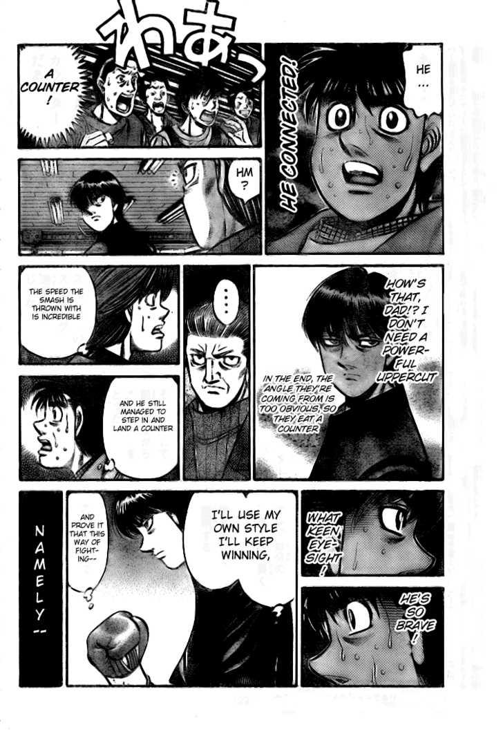 Hajime no Ippo 810 Page 3
