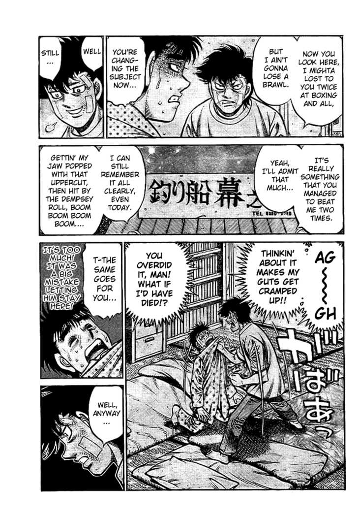 Hajime no Ippo 814 Page 3