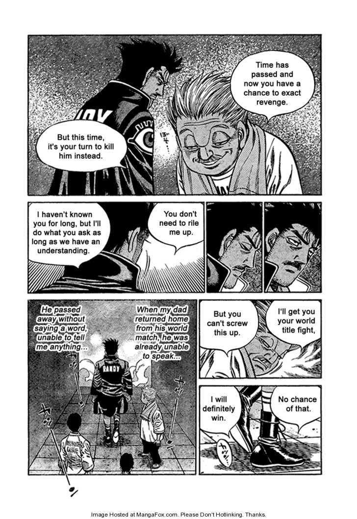 Hajime no Ippo 820 Page 4
