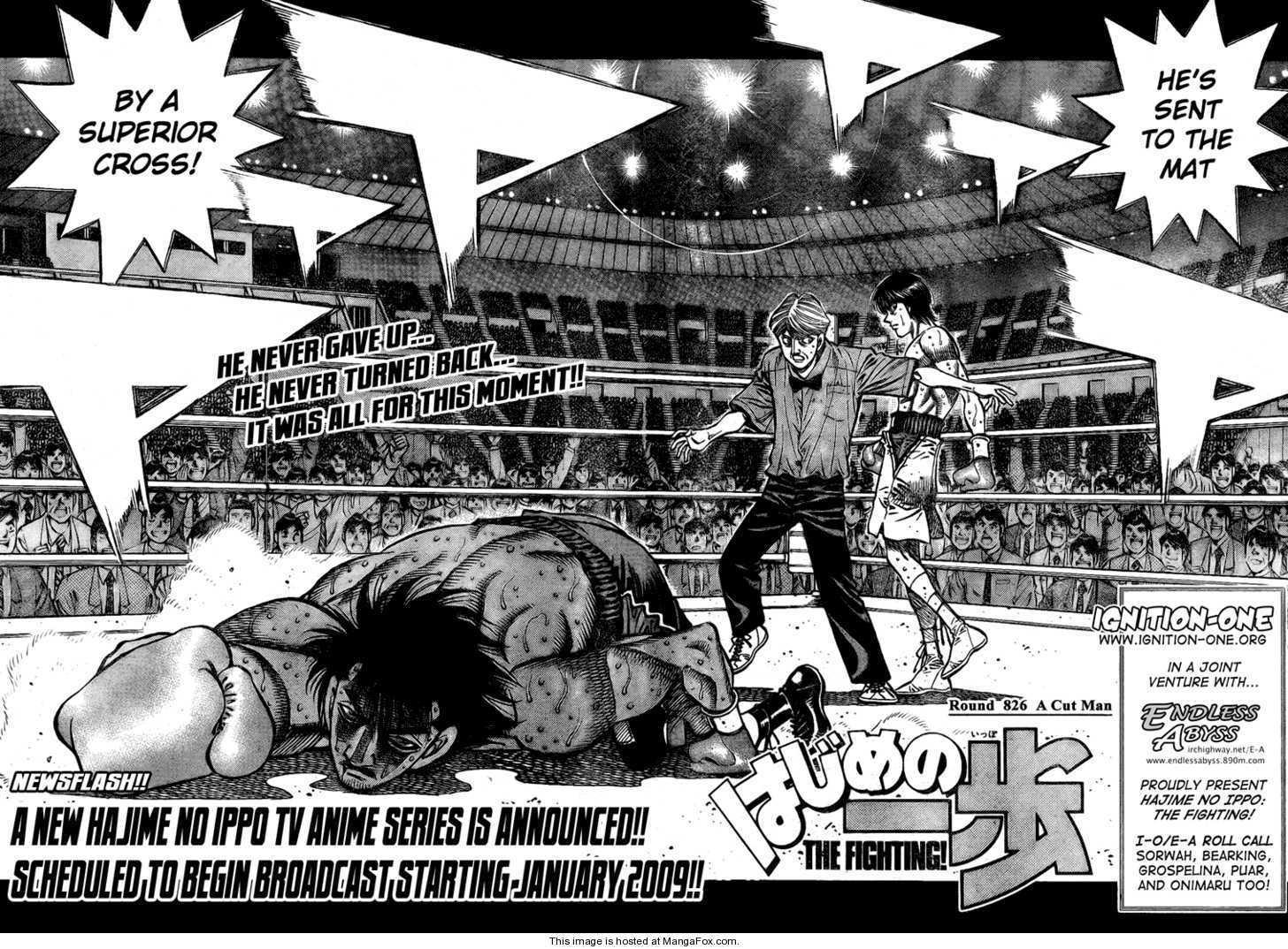 Hajime no Ippo 826 Page 2