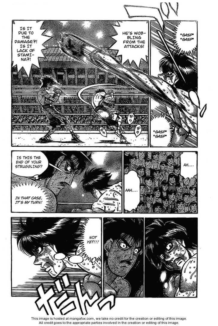 Hajime no Ippo 841 Page 2