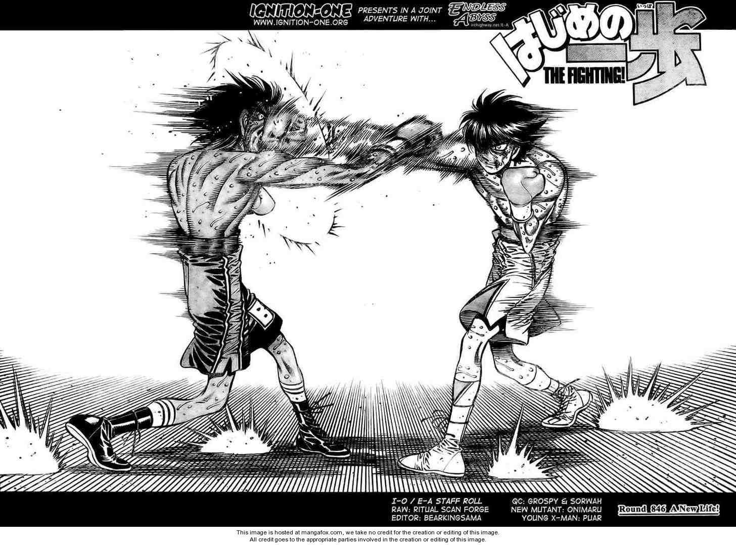 Hajime no Ippo 846 Page 2