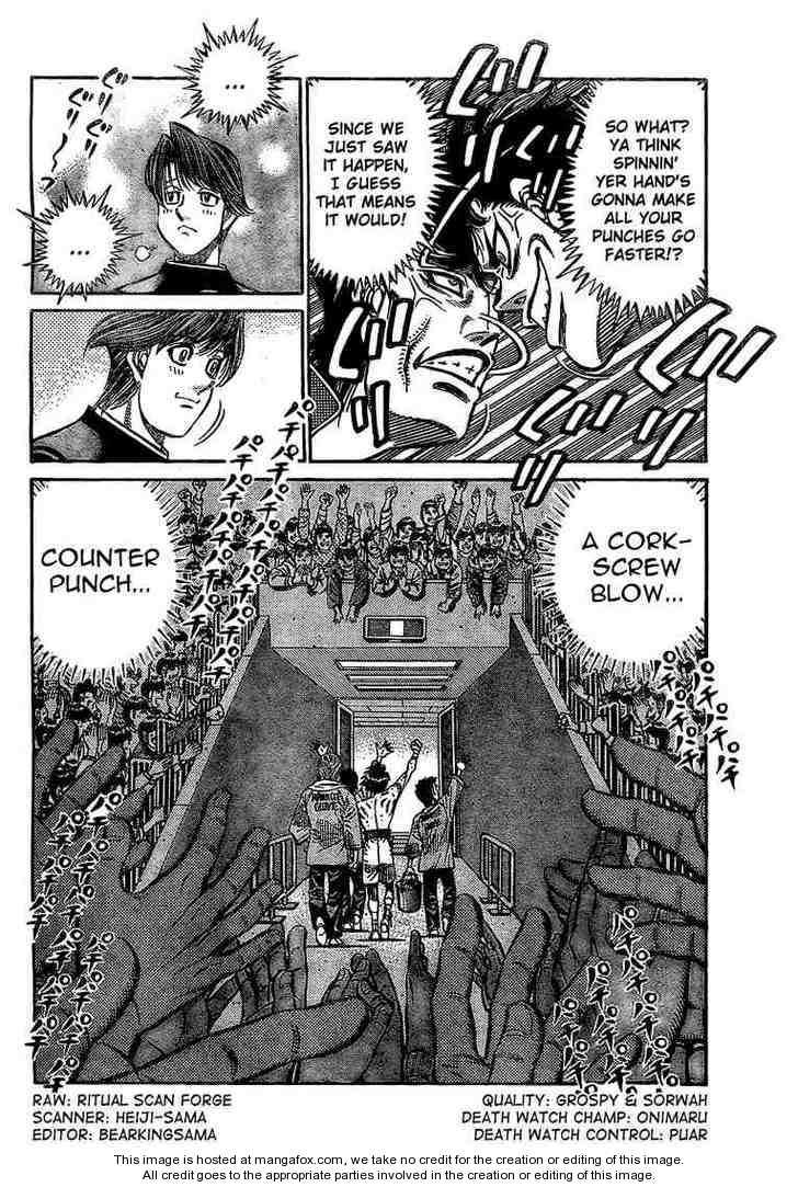 Hajime no Ippo 847 Page 2