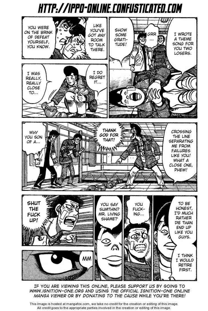 Hajime no Ippo 850 Page 2