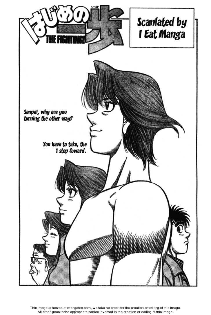 Hajime no Ippo 851 Page 1