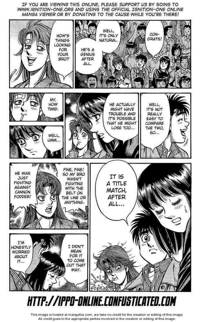 Hajime no Ippo 853 Page 2