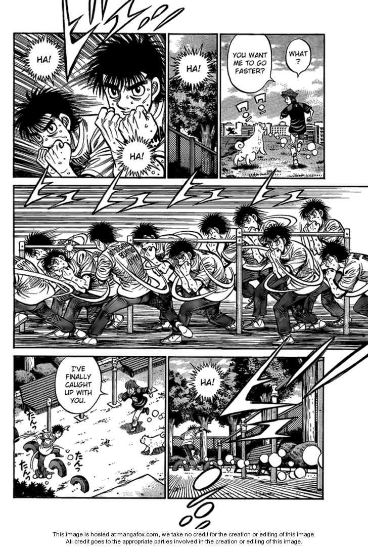 Hajime no Ippo 856 Page 4