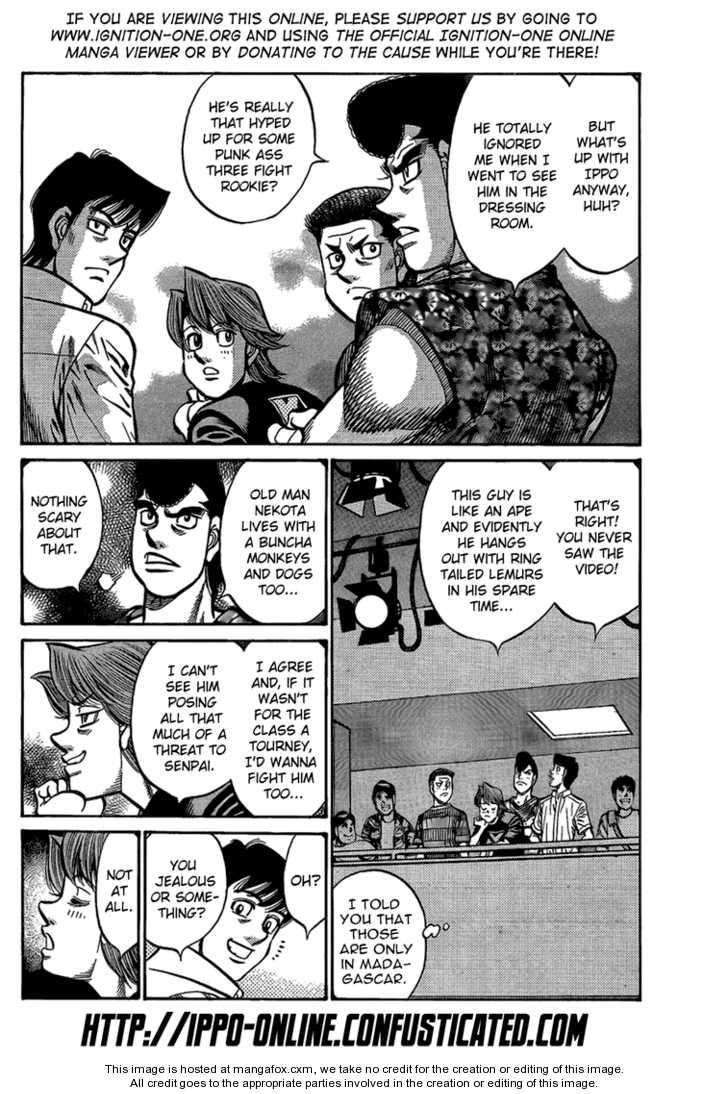 Hajime no Ippo 865 Page 2