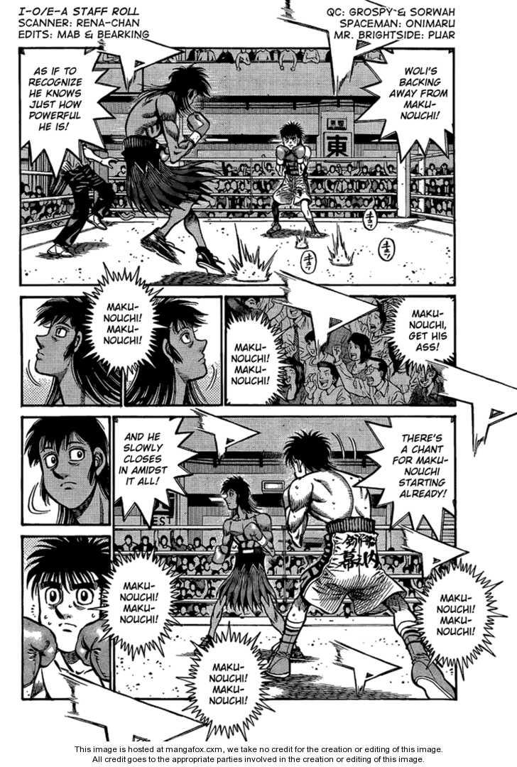 Hajime no Ippo 866 Page 2