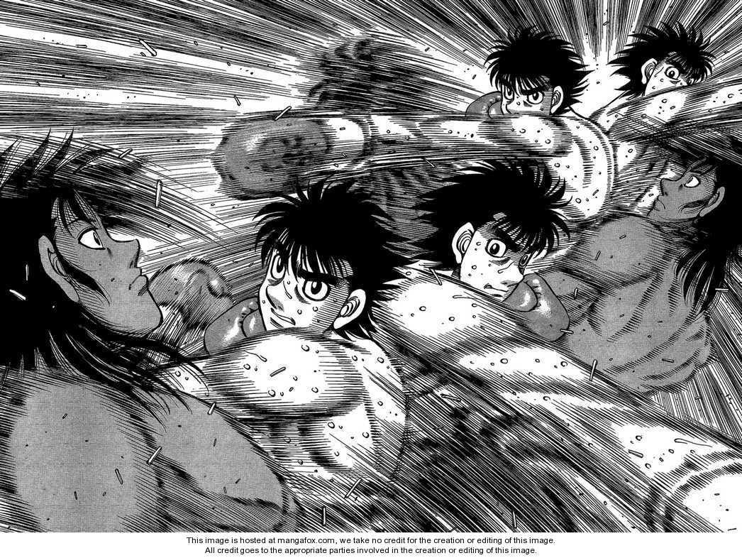 Hajime no Ippo 870 Page 2