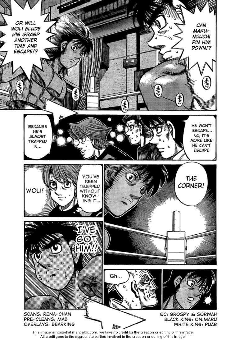 Hajime no Ippo 872 Page 3