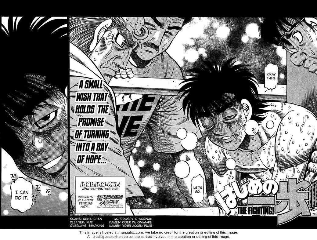 Hajime no Ippo 883 Page 2