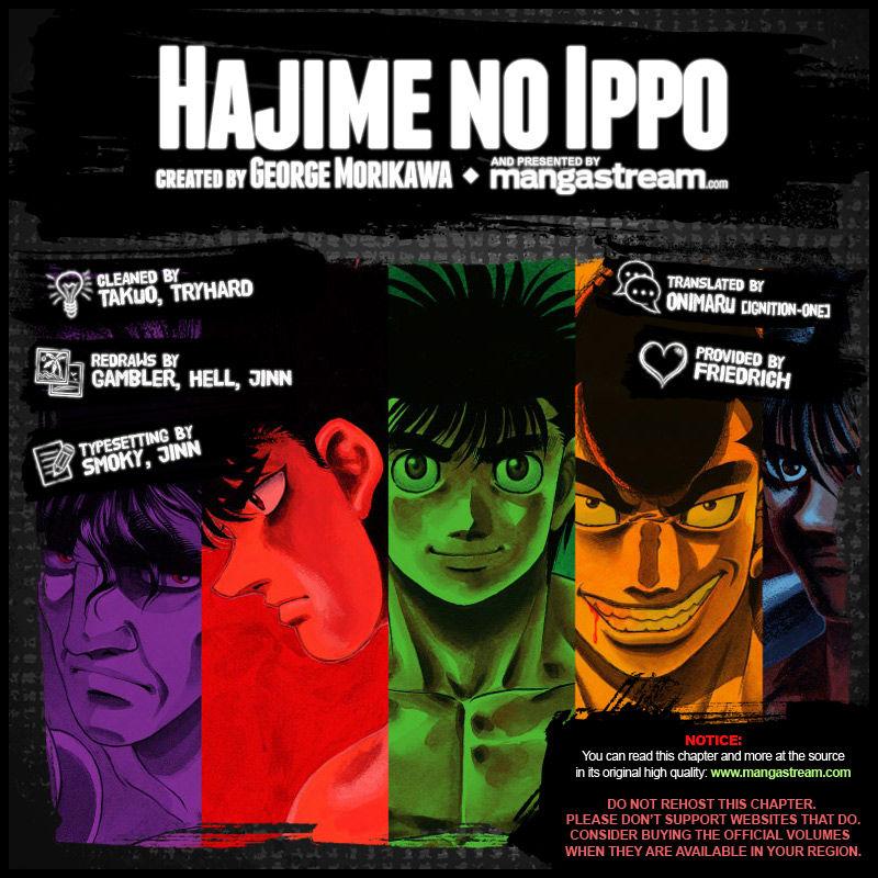 Hajime no Ippo 1040 Page 2