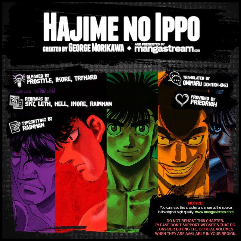 Hajime no Ippo 1043 Page 2