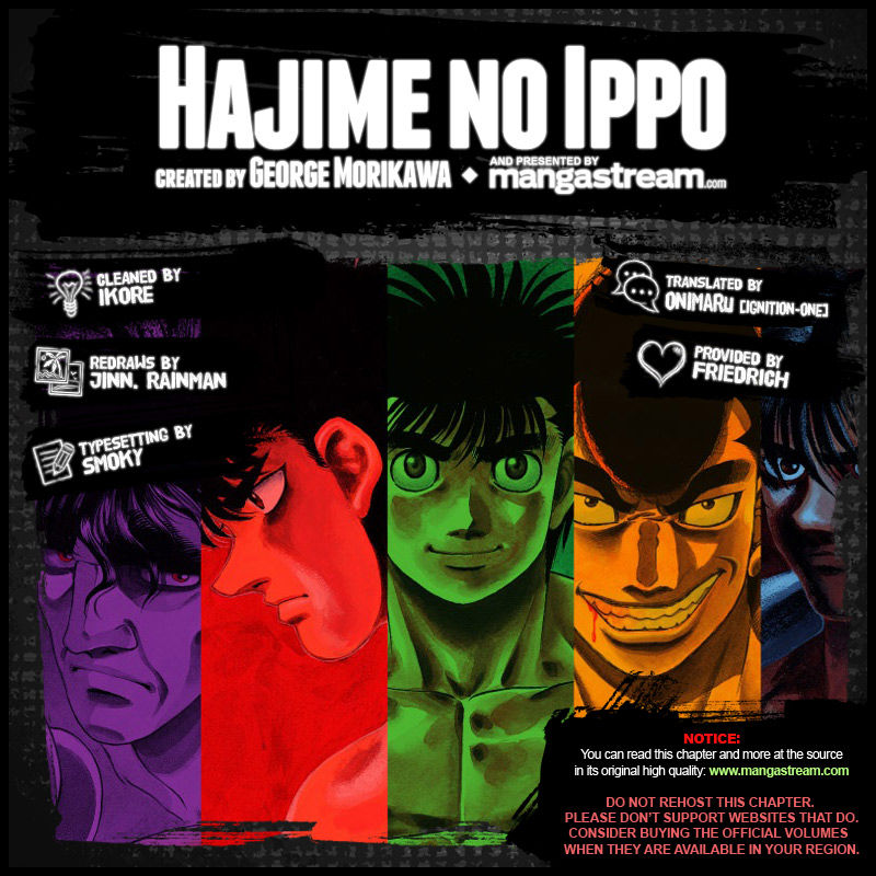 Hajime no Ippo 1050 Page 2
