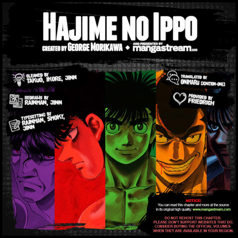 Hajime no Ippo 1051 Page 2