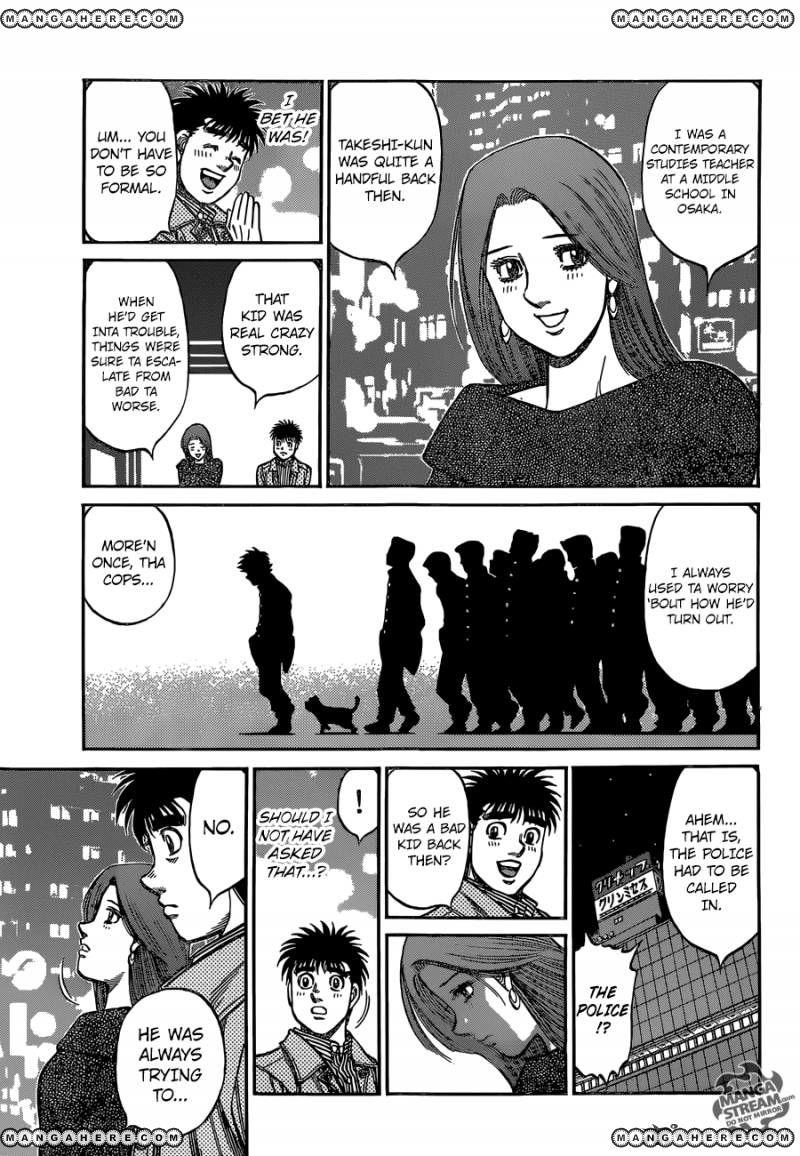 Hajime no Ippo - Chapter 1127