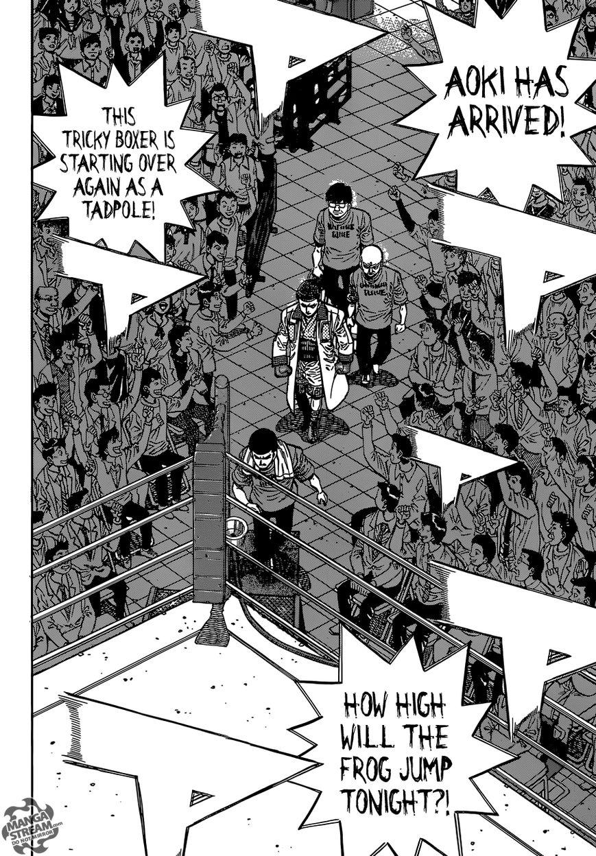Hajime no Ippo - Chapter 1138