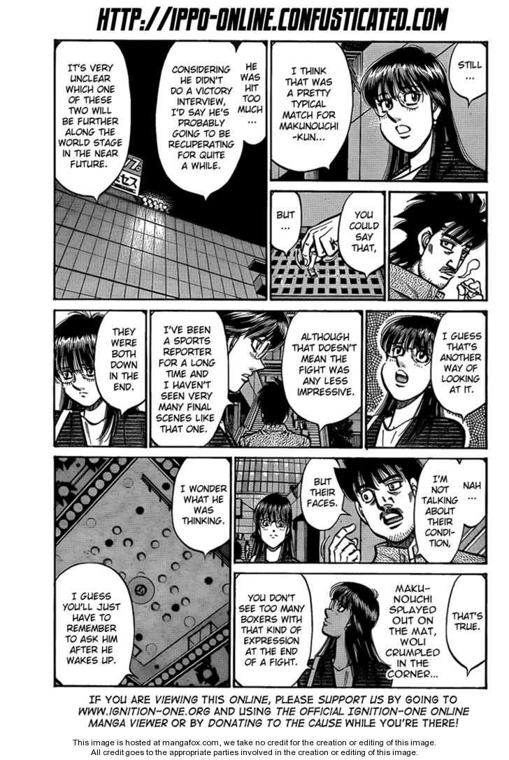 Hajime no Ippo 895 Page 3