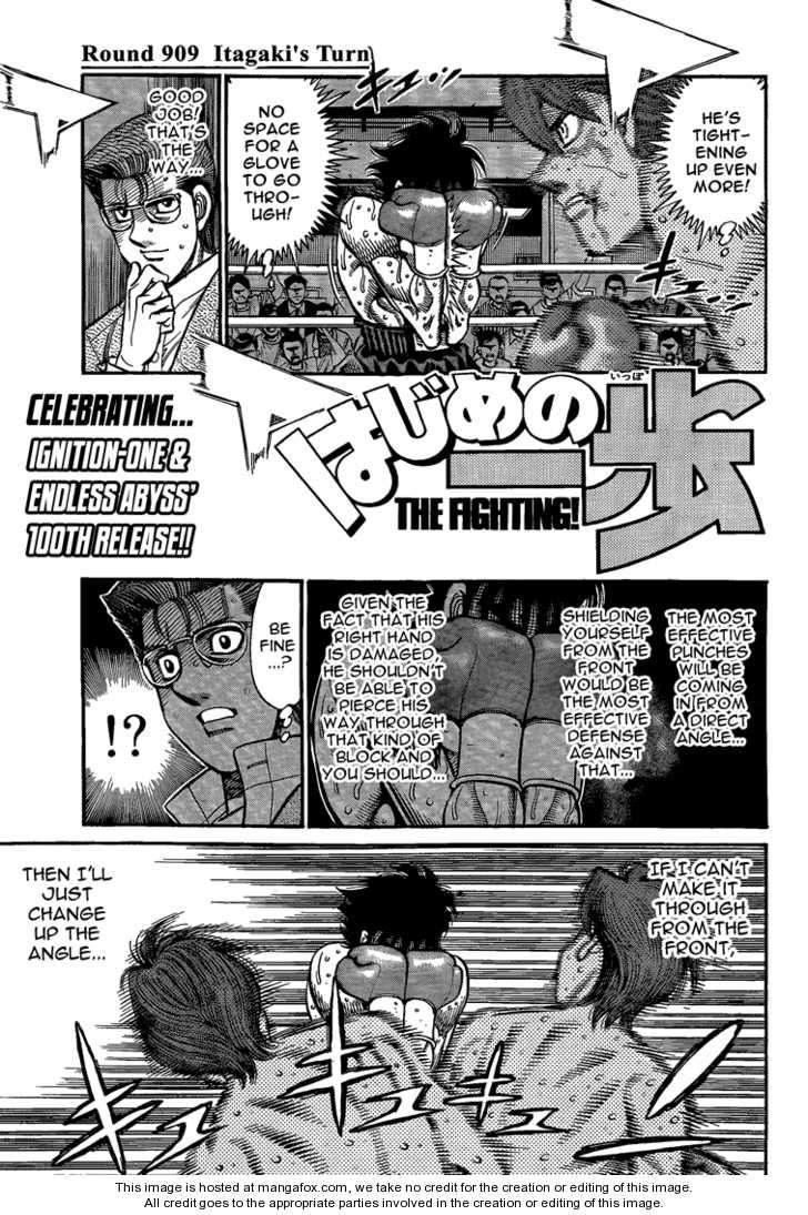 Hajime no Ippo 909 Page 1