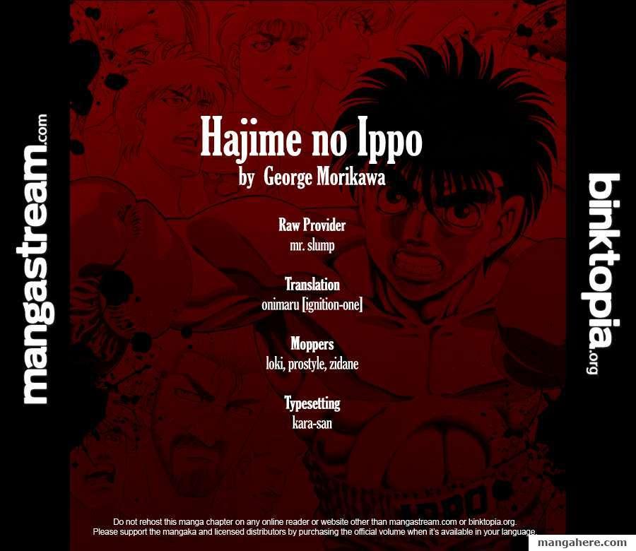Hajime no Ippo 920 Page 2