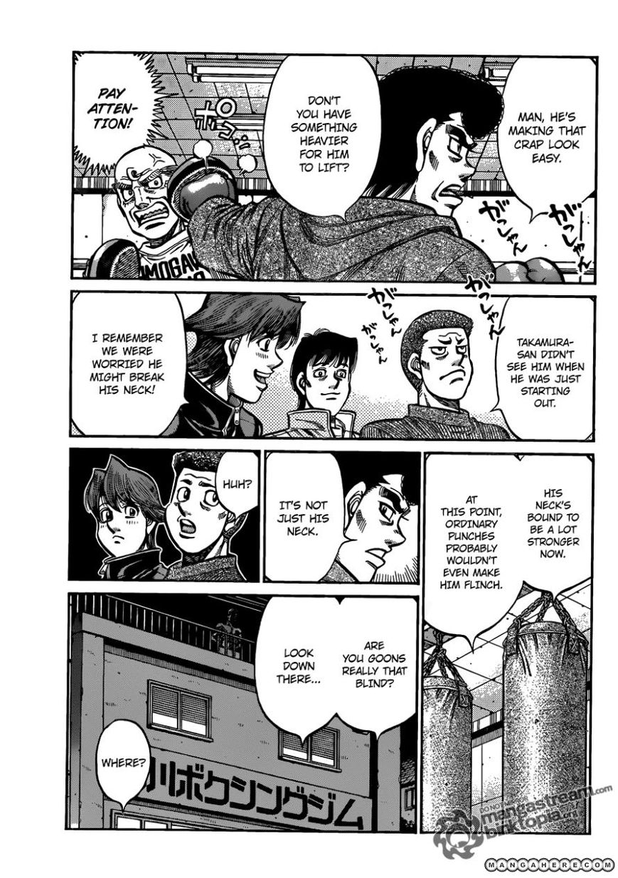 Hajime no Ippo 926 Page 3