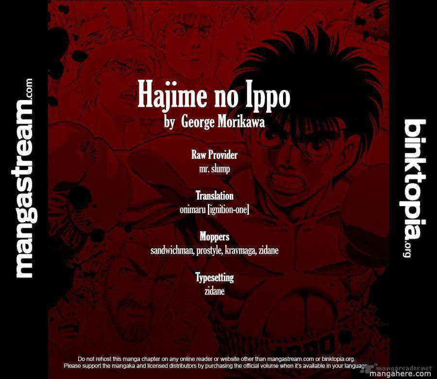 Hajime no Ippo 928 Page 2