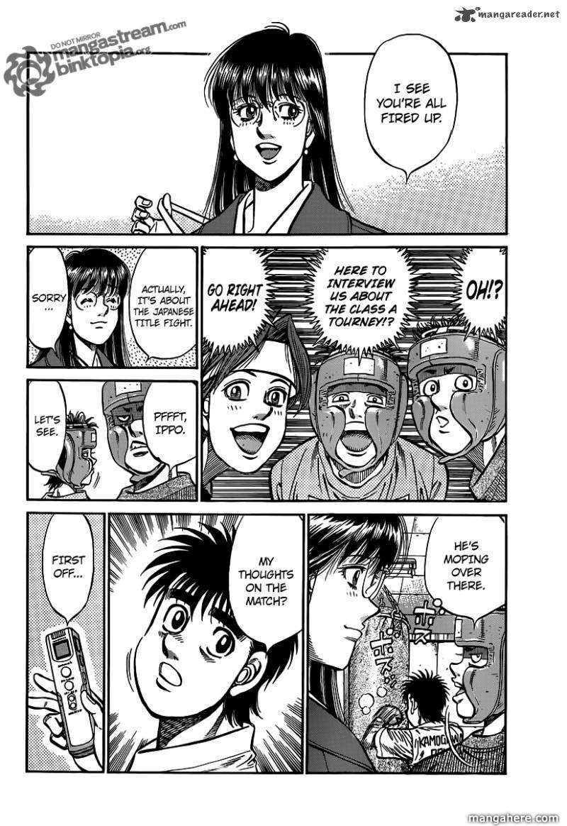 Hajime no Ippo 945 Page 2