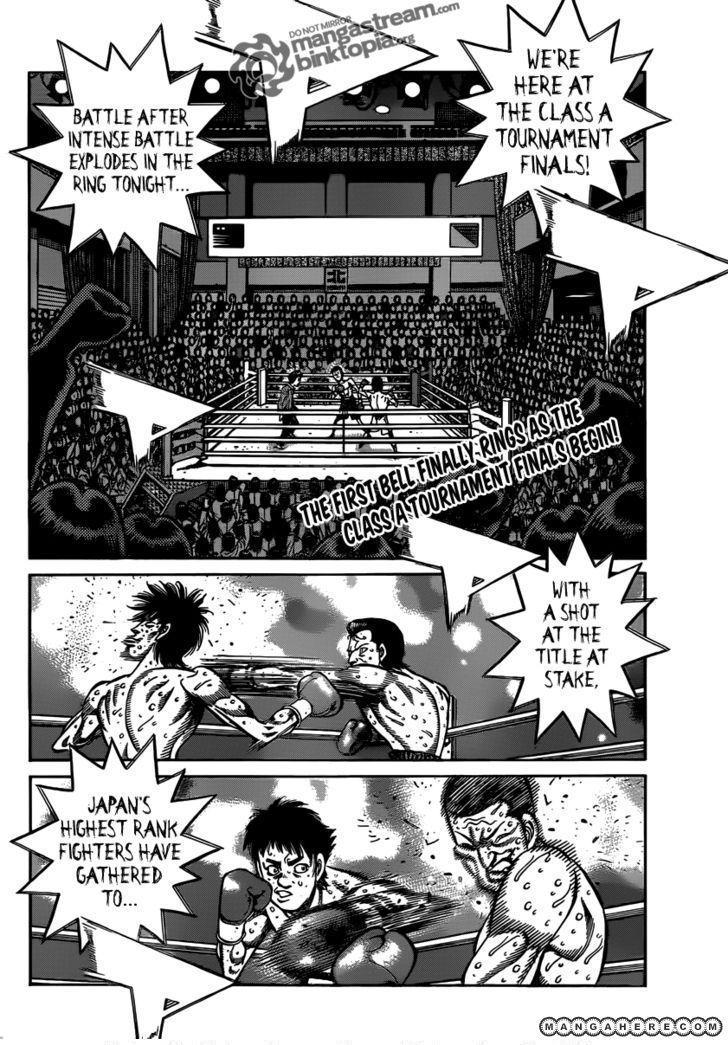 Hajime no Ippo 953 Page 3