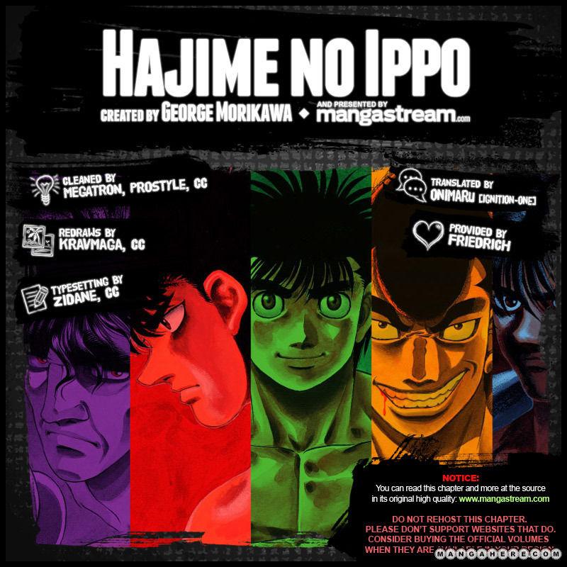 Hajime no Ippo 958 Page 2