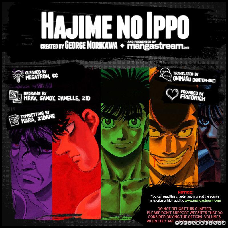 Hajime no Ippo 962 Page 2