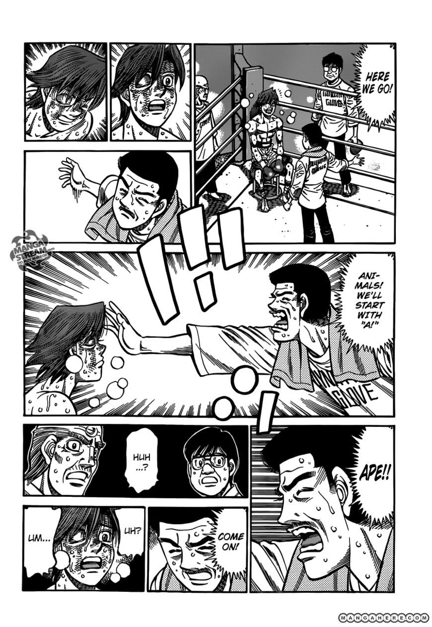 Hajime no Ippo 963 Page 3