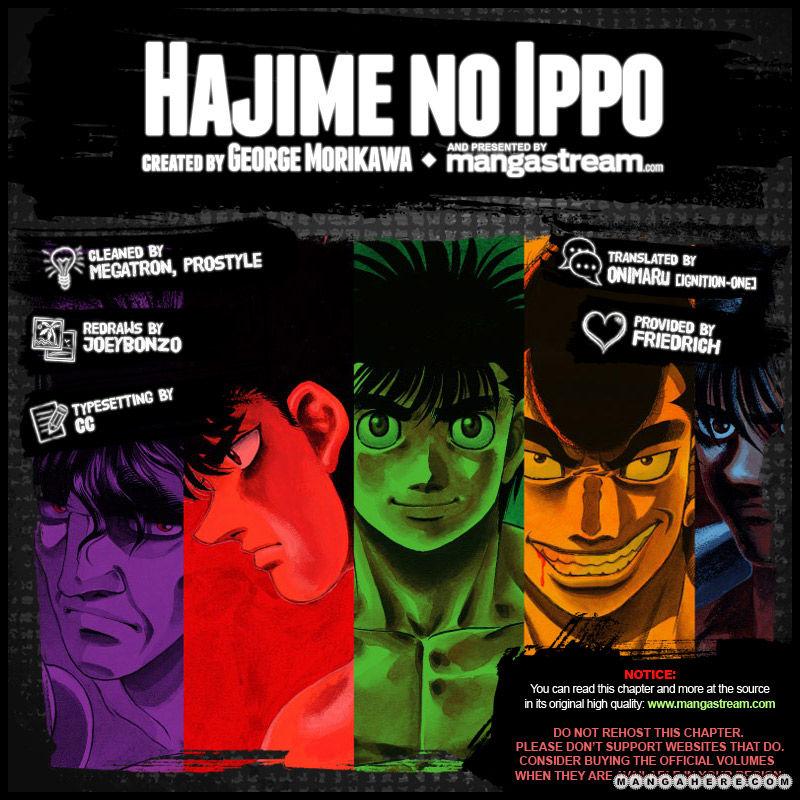 Hajime no Ippo 966 Page 2
