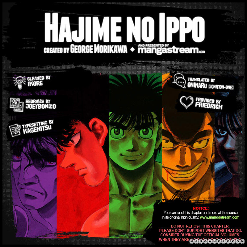 Hajime no Ippo 967 Page 2