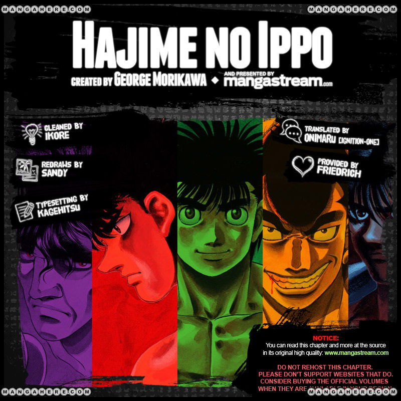 Hajime no Ippo 980 Page 2