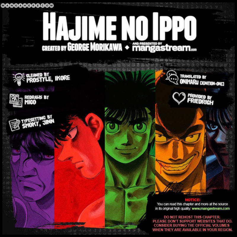 Hajime no Ippo 984 Page 2