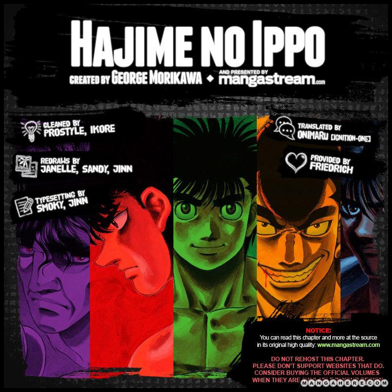 Hajime no Ippo 989 Page 2
