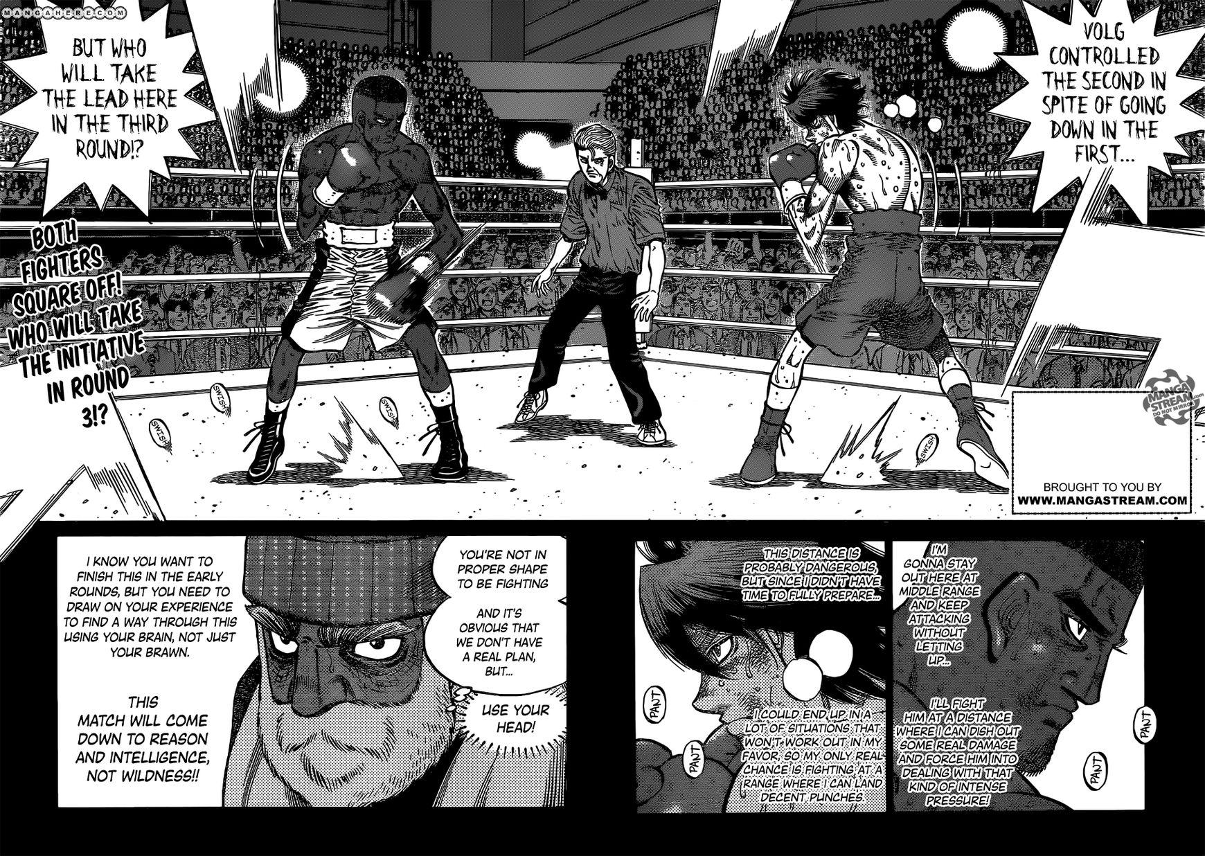 Hajime no Ippo 993 Page 3